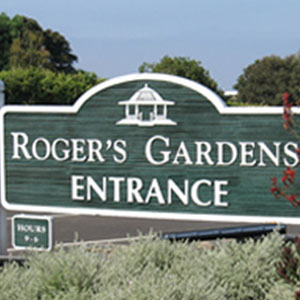Roger's Gardens entrance sign created with Valley Tool tooling board & epoxy